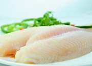 Pangasius fillet light yellow well trimmed
