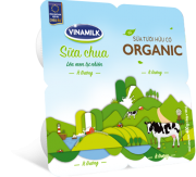 Vinamilk Organic Yogurt Light