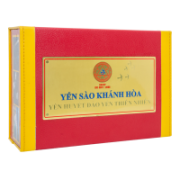 Red nests taken from the natural islands of khanh hoa in gift box – code 024S