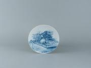Round plates: One - Pillar Pagoda