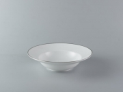 Deep soup plate