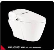 Smart monoblock toilet seat