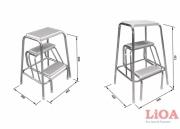 Multipurpose step-ladder